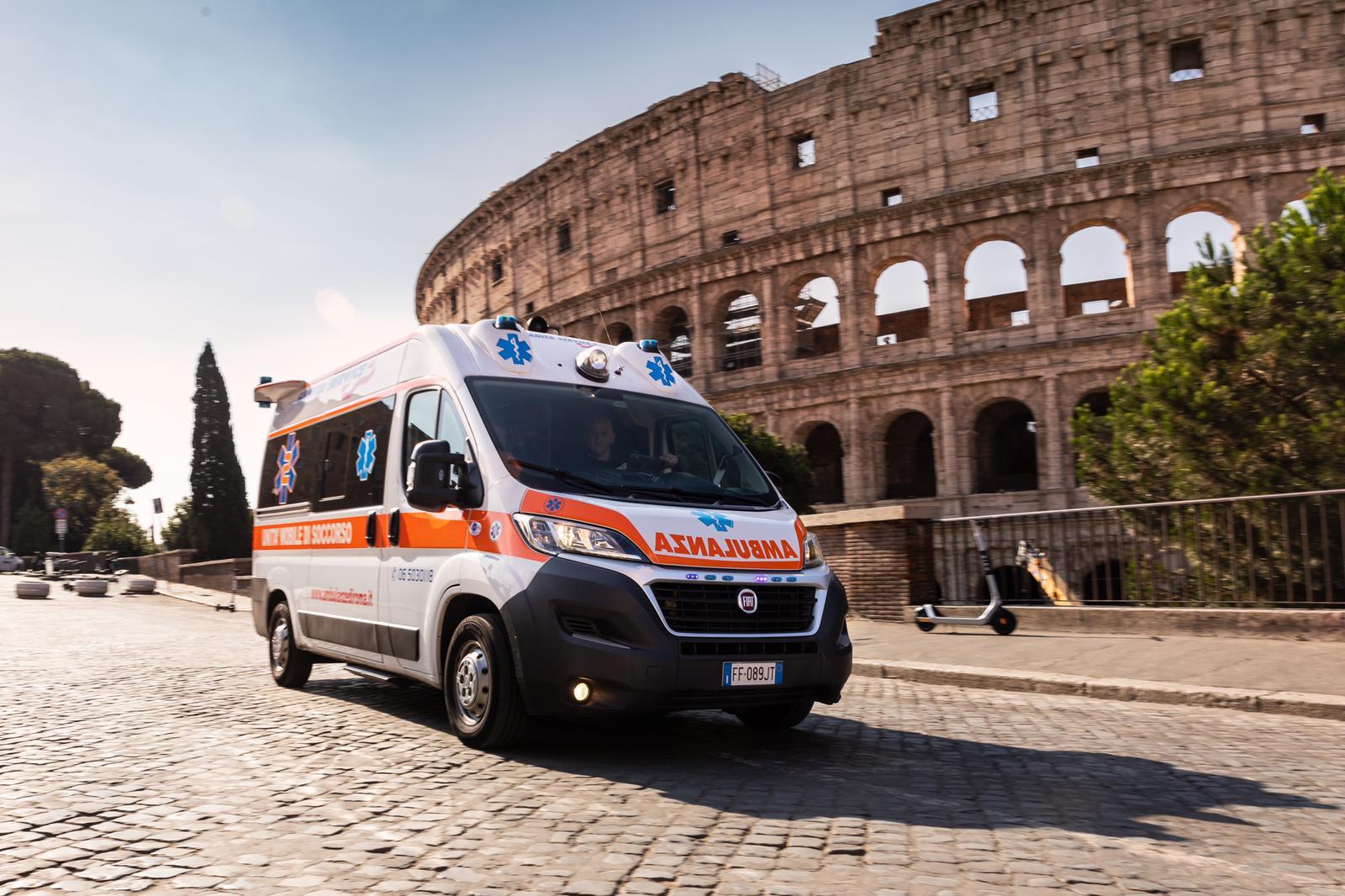 ambulanza privata h 24 roma